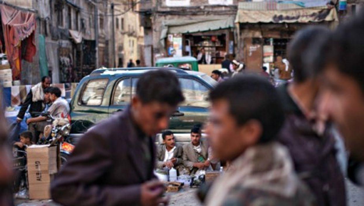 Facing economic meltdown in Sana'a's old city