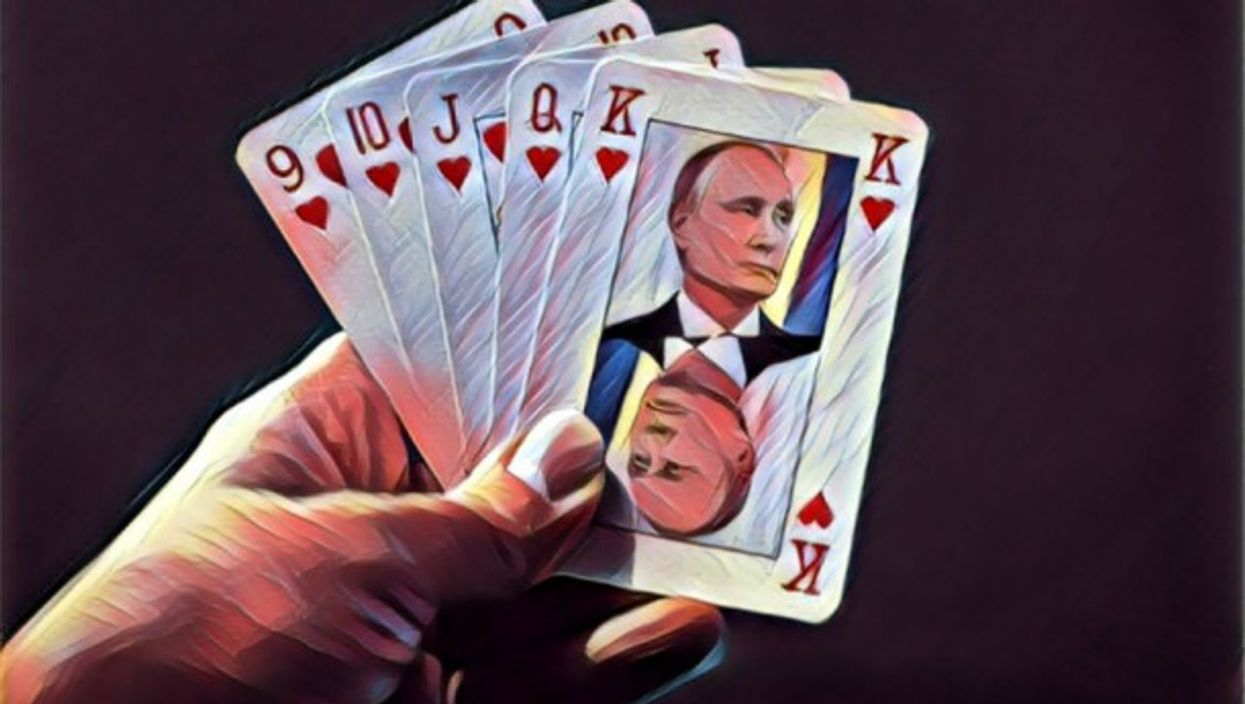 Facing potential Second Cold War, participating countries strategize as if playing poker.
