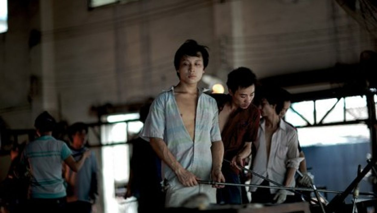 Factory workers in Guangdong, China (Lyle Vincent)