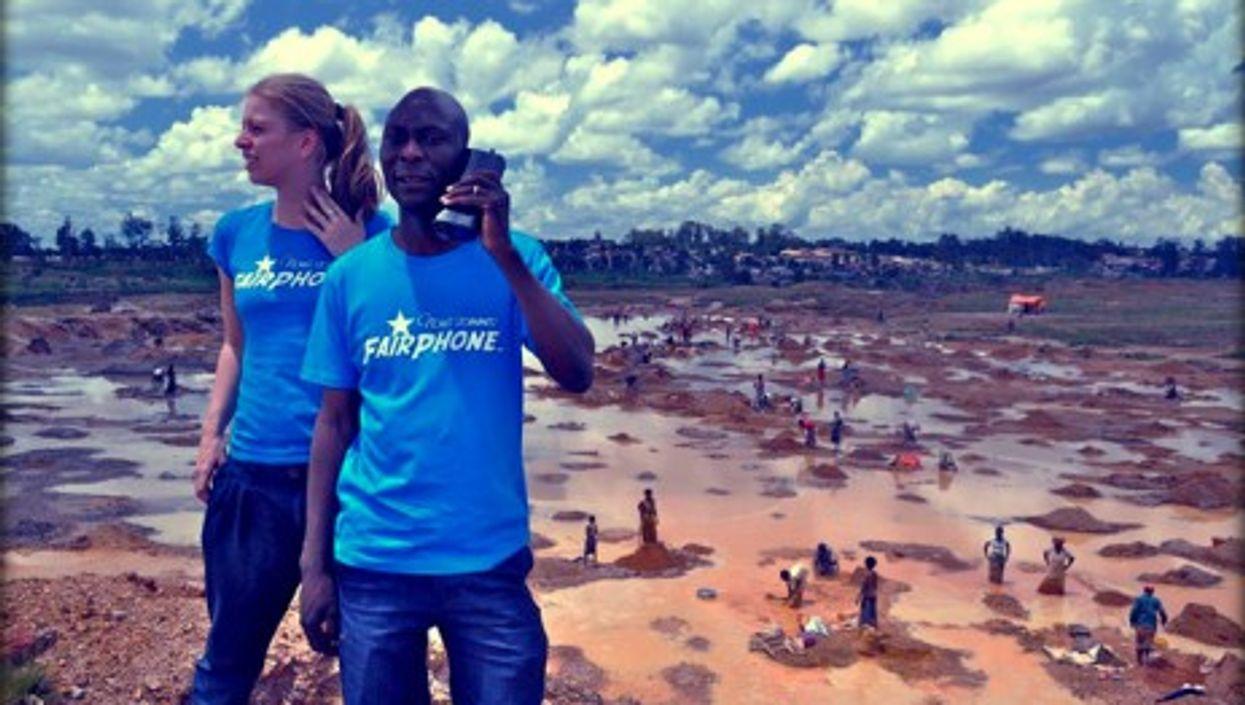 FairPhone in DR Congo