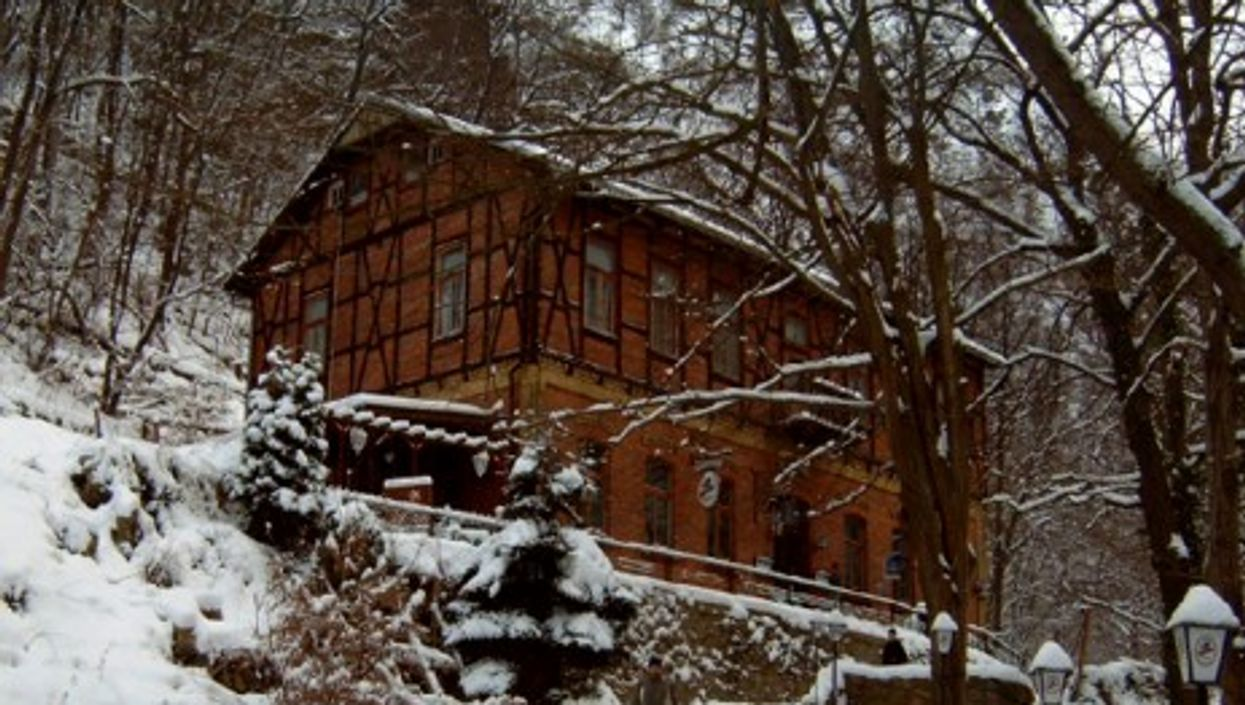 Families are more than welcome to stay at the Walkater hostel in central Germany (Kleiner Waldkater)