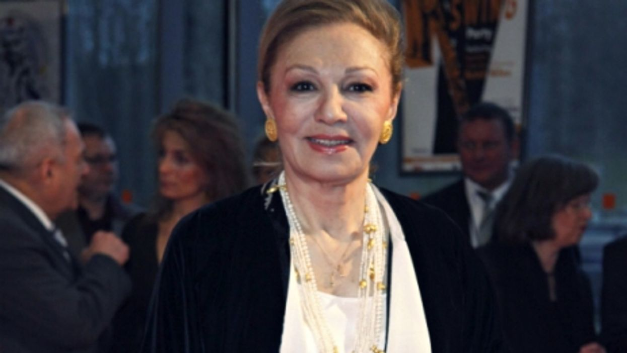 Farah Pahlavi, the third and last wife of the Shah of Iran