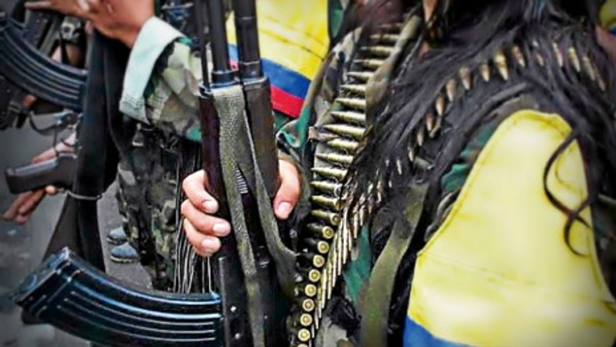 FARC soldiers in Colombia