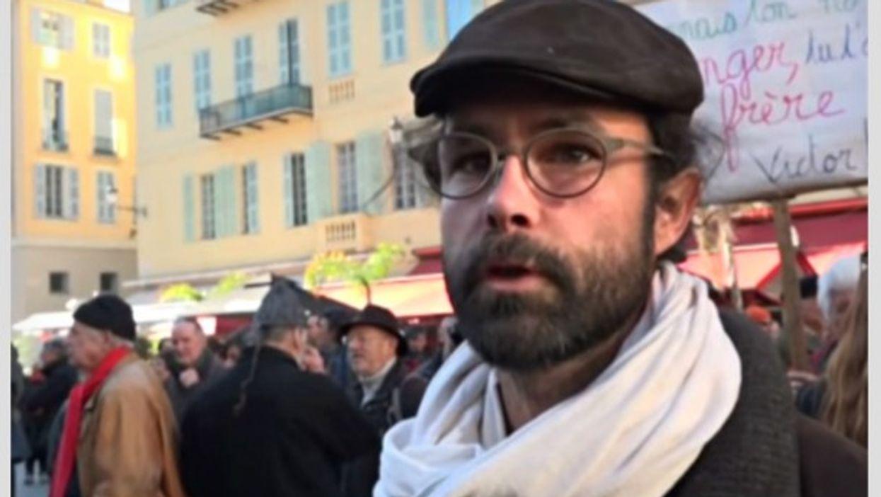 Farmer and activist Cedric Herrou