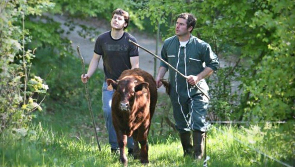 Farmers in Valcivières