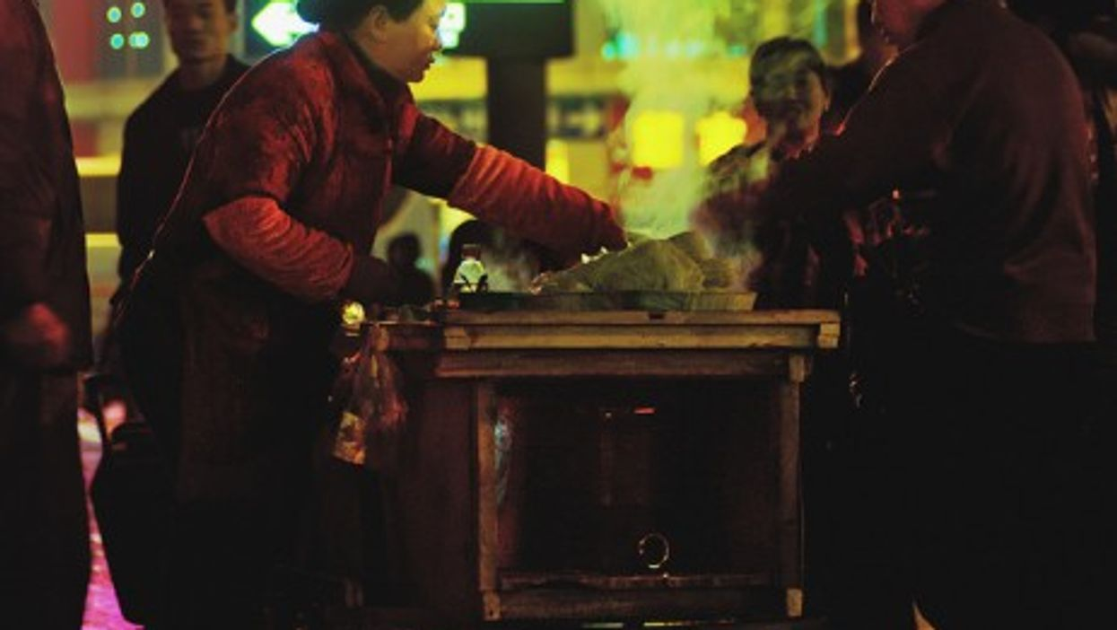 Fast food in Shanghai