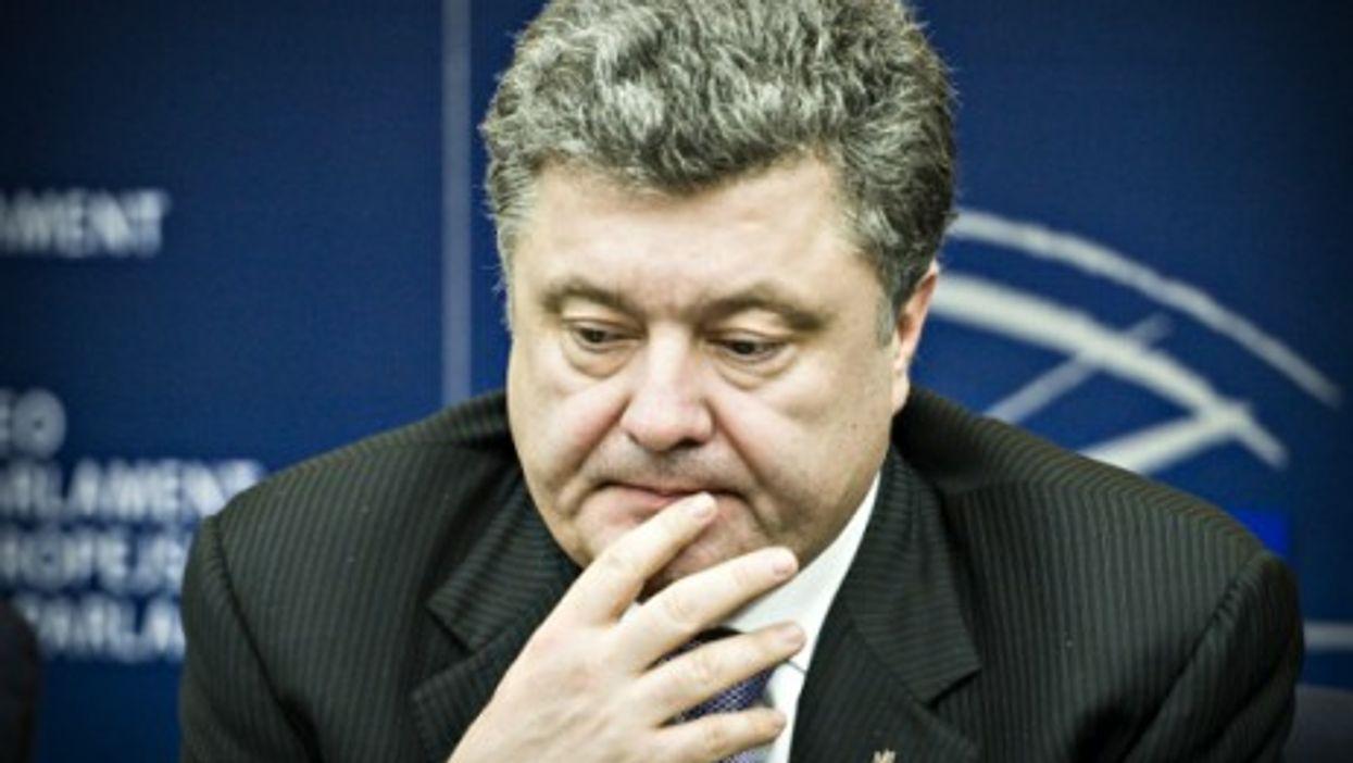 Fateful decisions weigh on Ukrainian President Petro Poroshenko