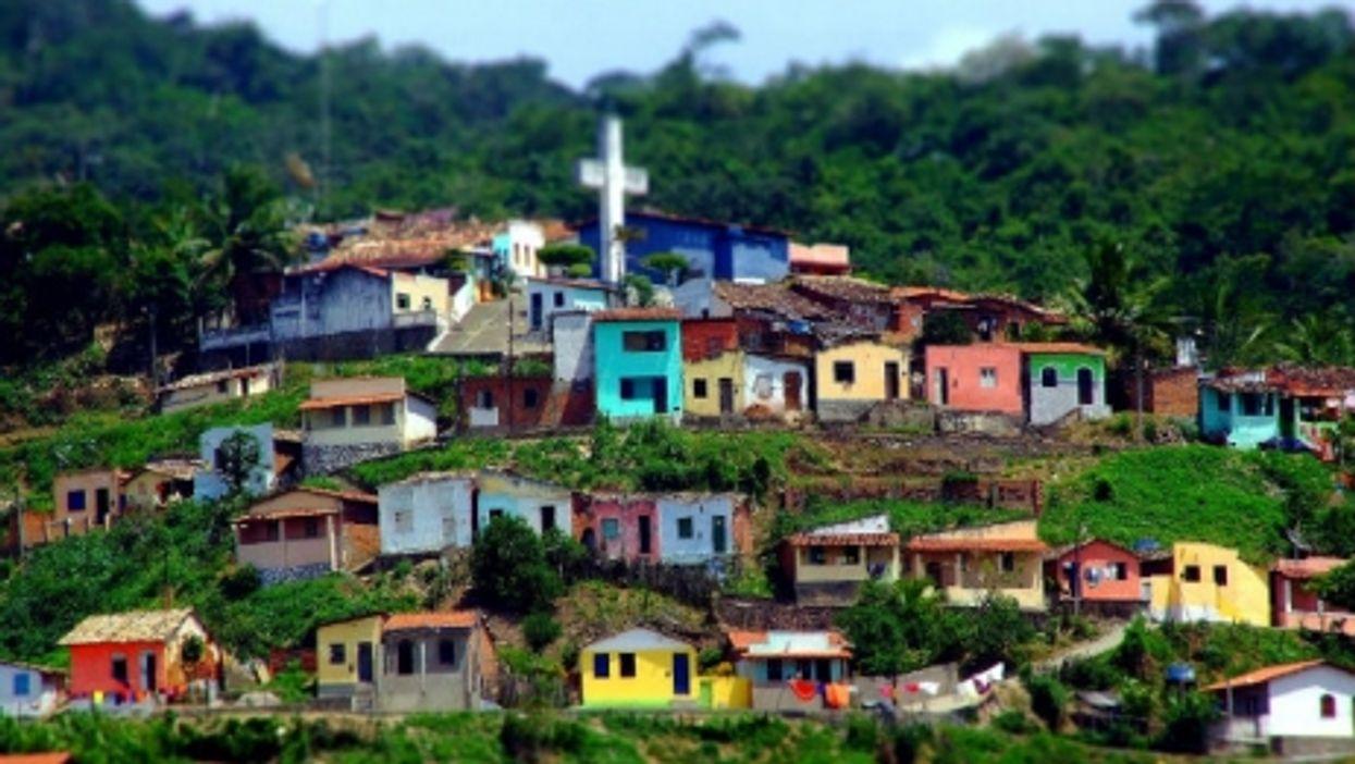 Favela landscape