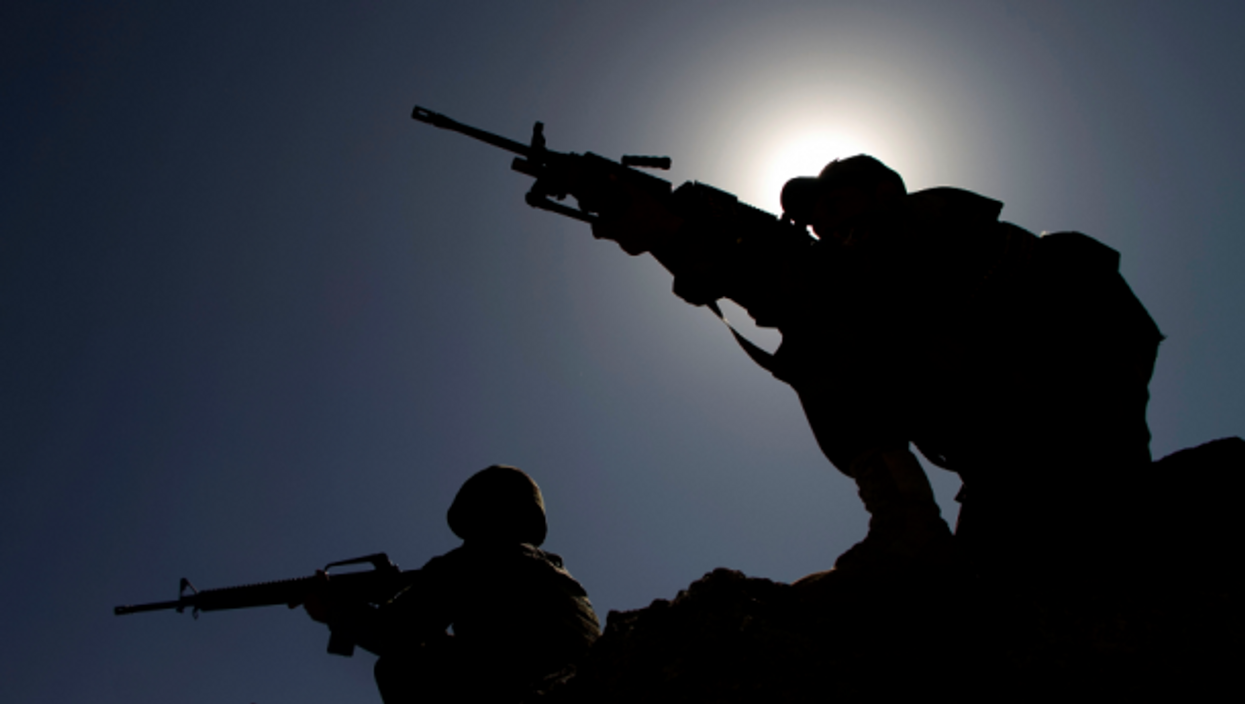 fghan army soldiers in  Laghman province, Afghanistan in Oct. 2020