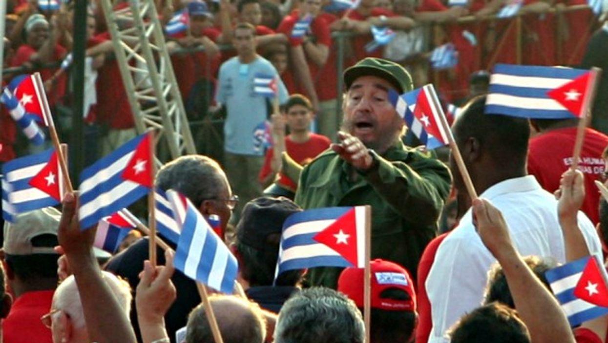 Fidel Castro in Havana in 2005