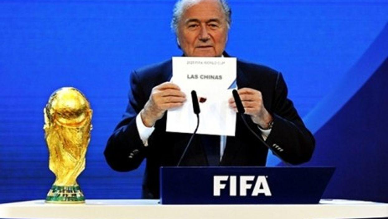 """FIFA President Joseph """"Sepp"""" Blatter"""