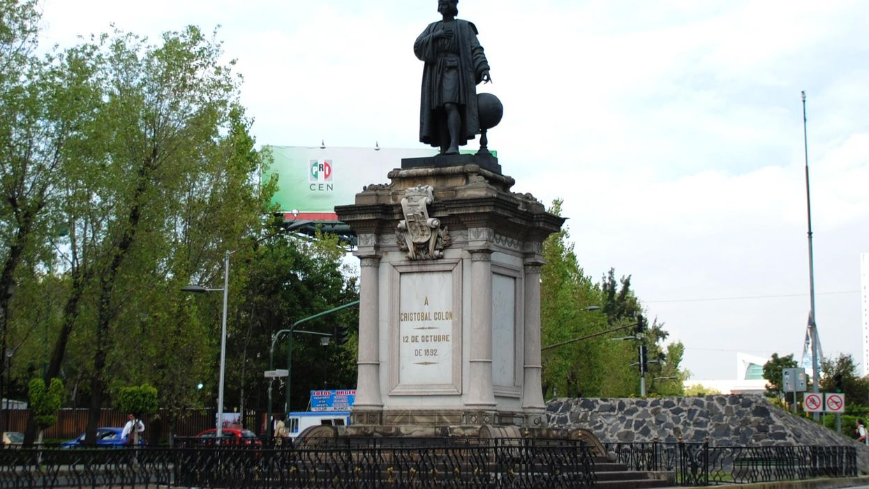 Columbus Statue In Mexico City Is Coming Back — Quietly