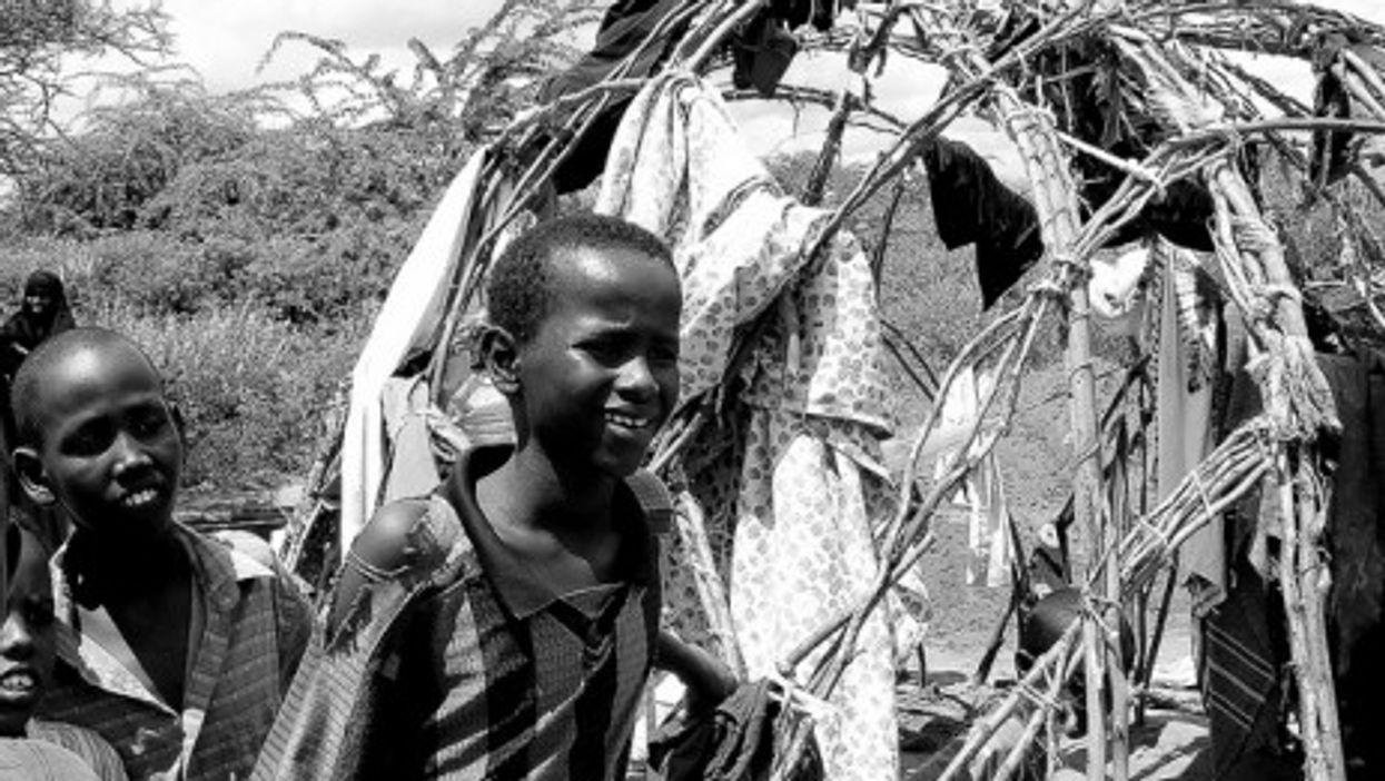 File photo of UN refugee camp in Dadaab, Kenya