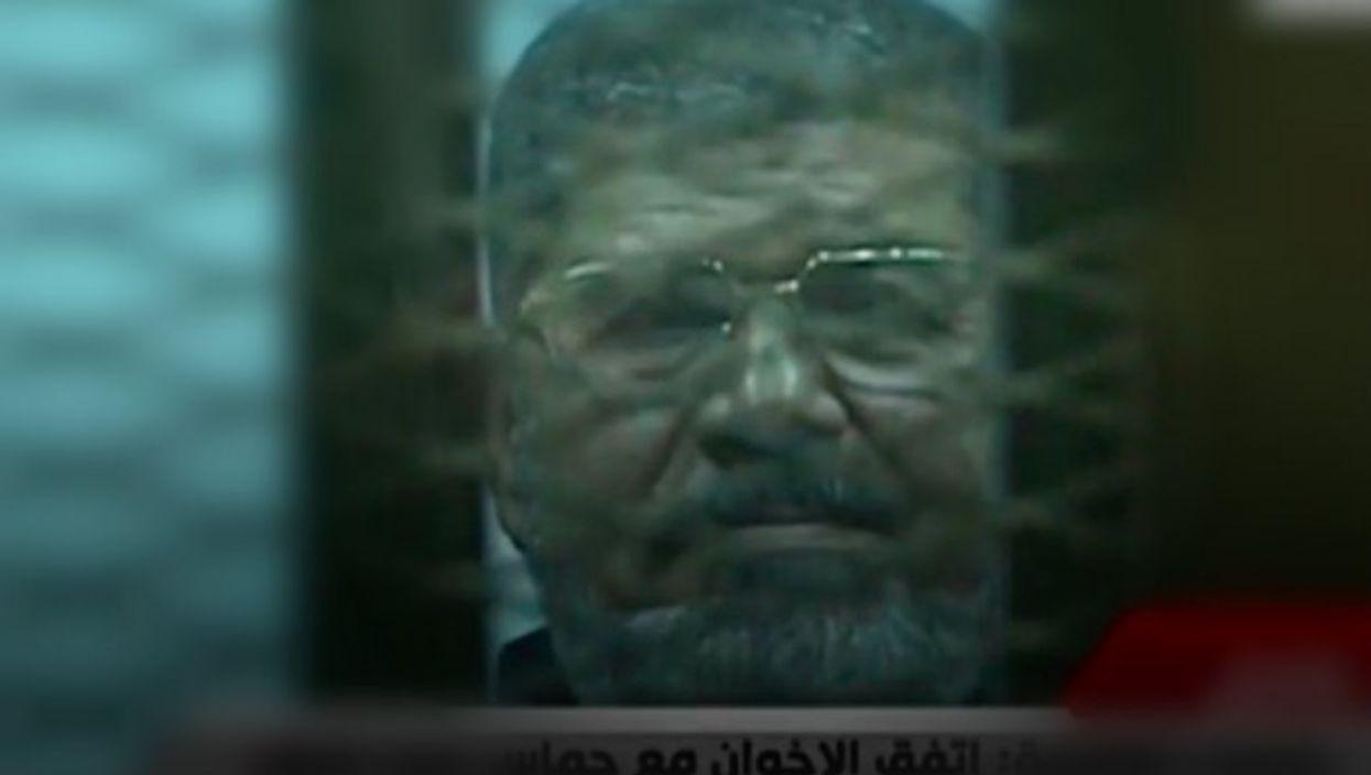 File screen shot of Morsi