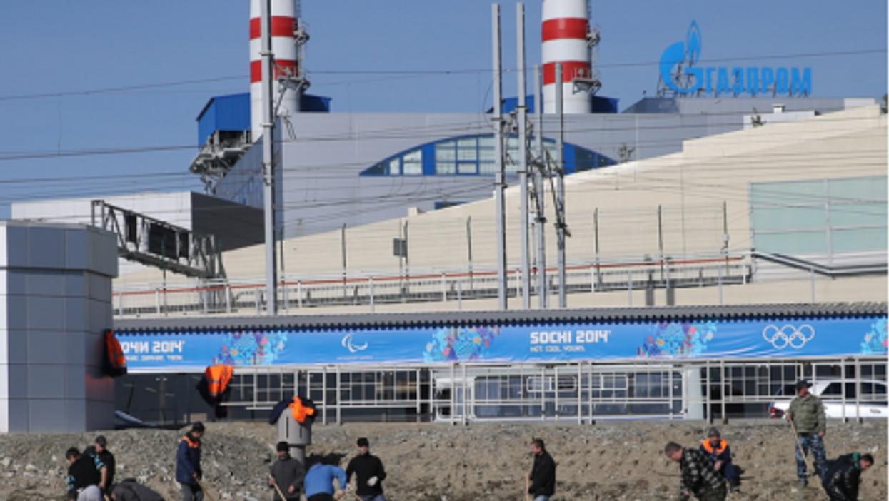 Finishing touches in Sochi