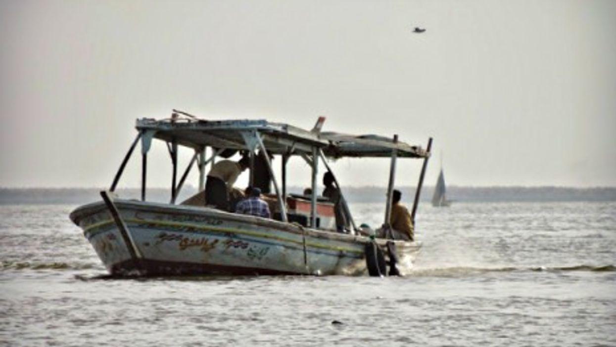 Fishing on Lake Burullus