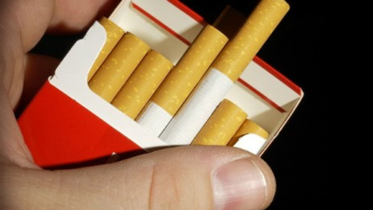 Flashy cigarettes packages will all become neutral in France.