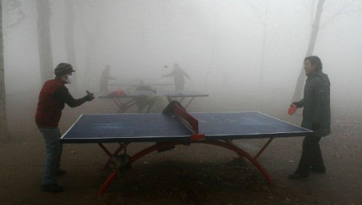 Forecast: fog mixed with smog
