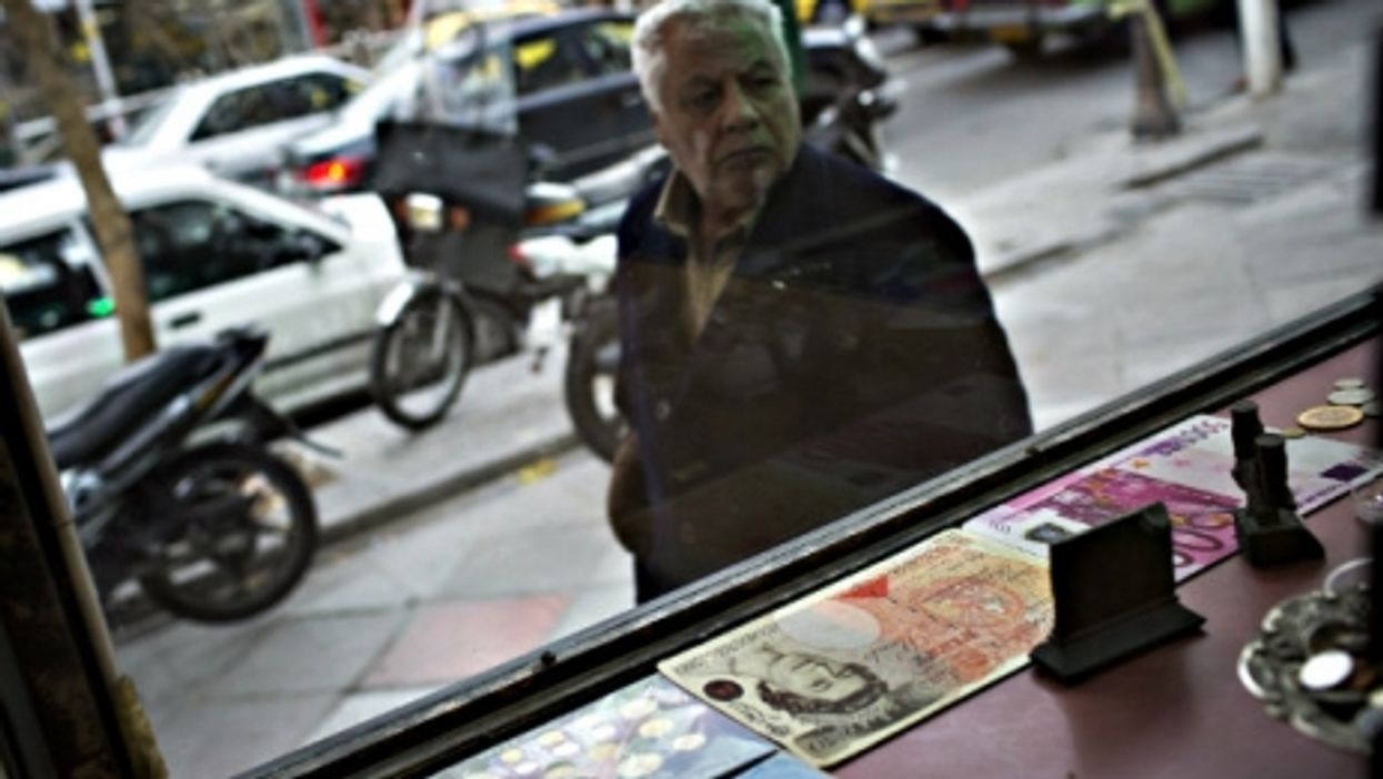 Foreign currency is still highly valued in Tehran