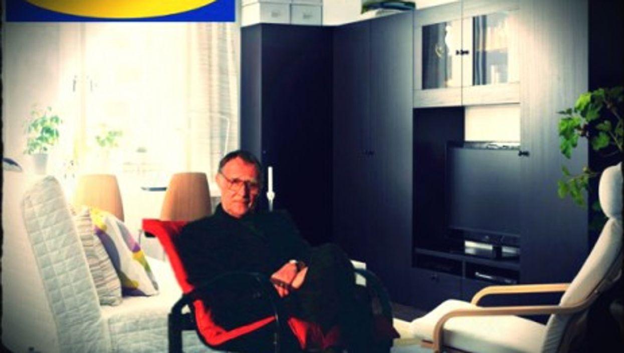 Founder of IKEA Ingvar Feodor Kamprad