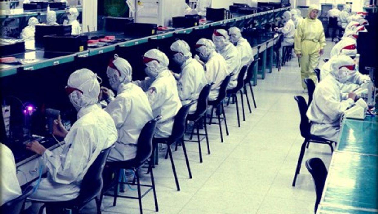 Foxconn factory in Shenzhen