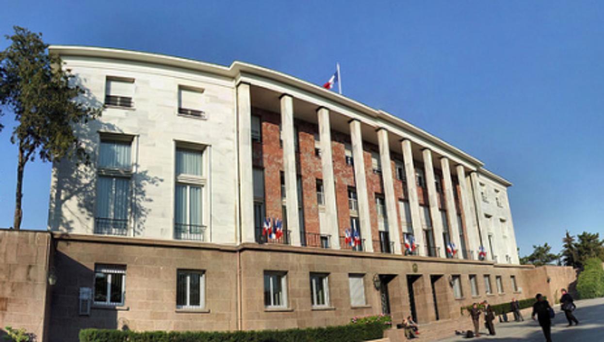 France's embassy to Turkey (Panoramas)