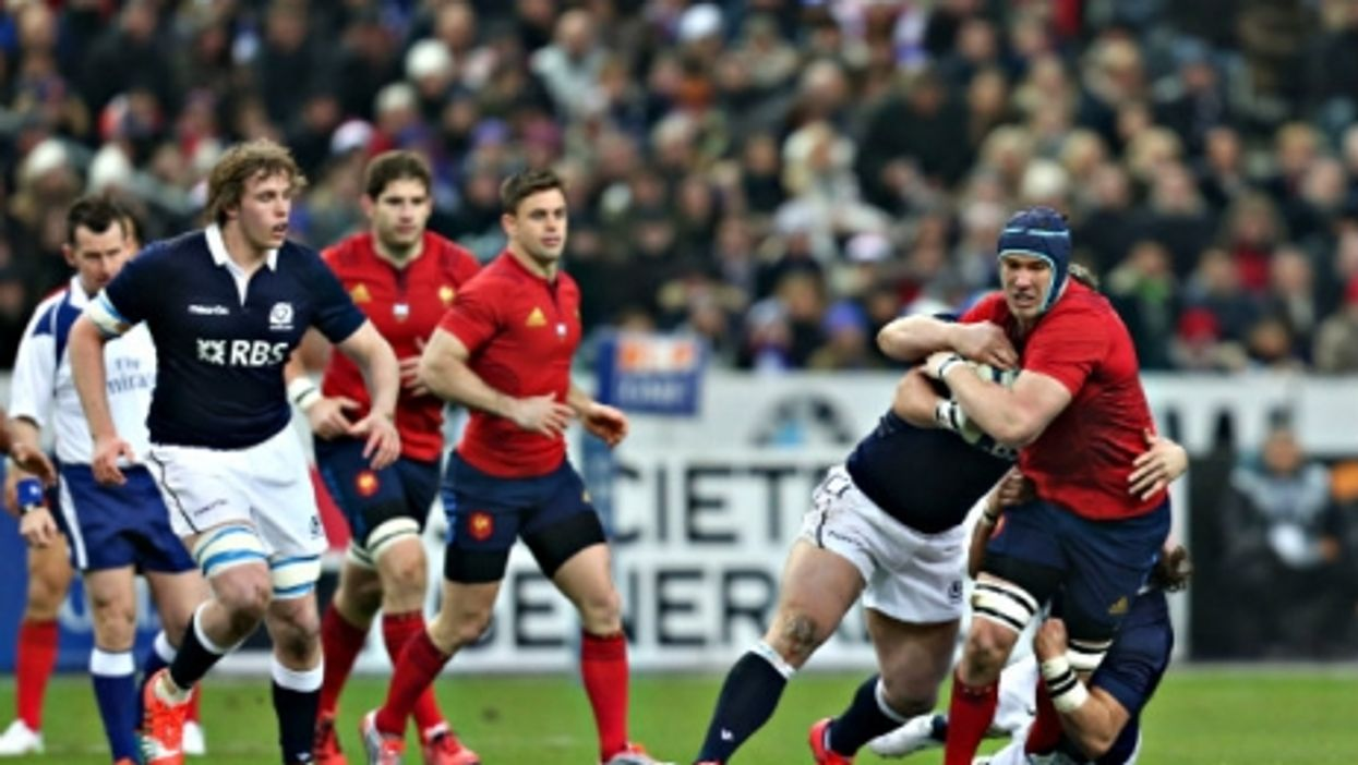France-Scotland grind it out at the Six Nations