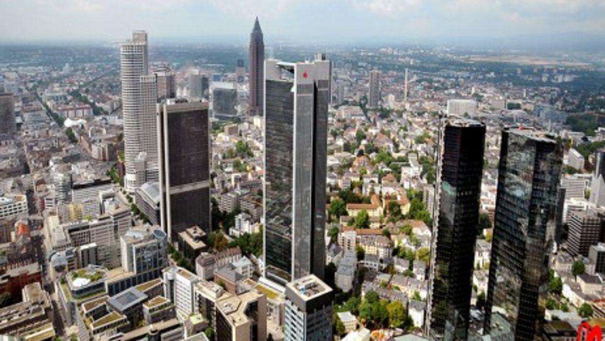 Frankfurt's financial center (frankartculinary)