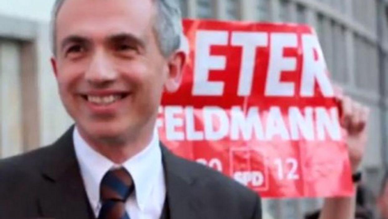 Frankfurt's mayor elect, Peter Feldmann (YouTube)