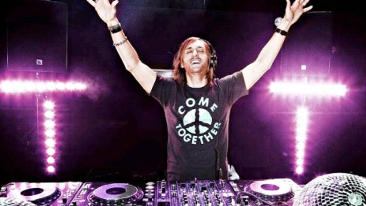 French DJ superstar David Guetta