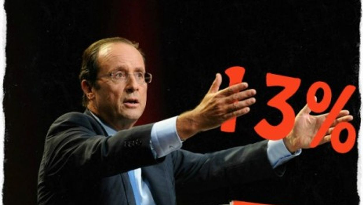 French President François Hollande's approval rating has hit a new low