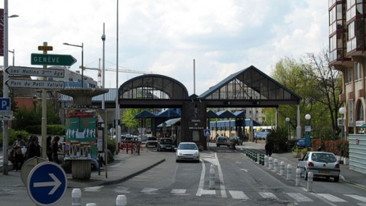 French-Swiss border (mpd)