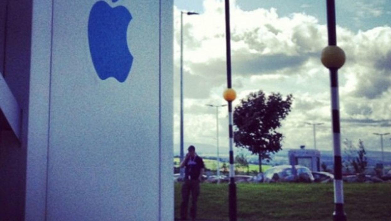 From Apple's headquarters in Cork
