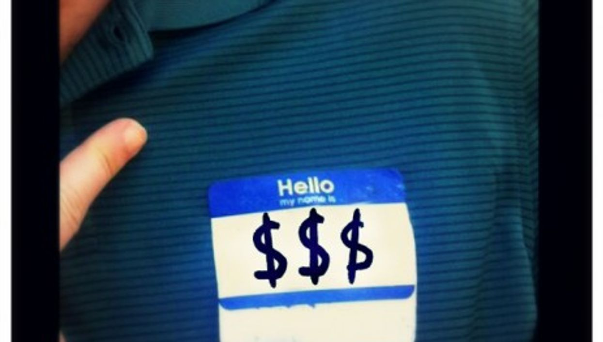From name tag to price tag