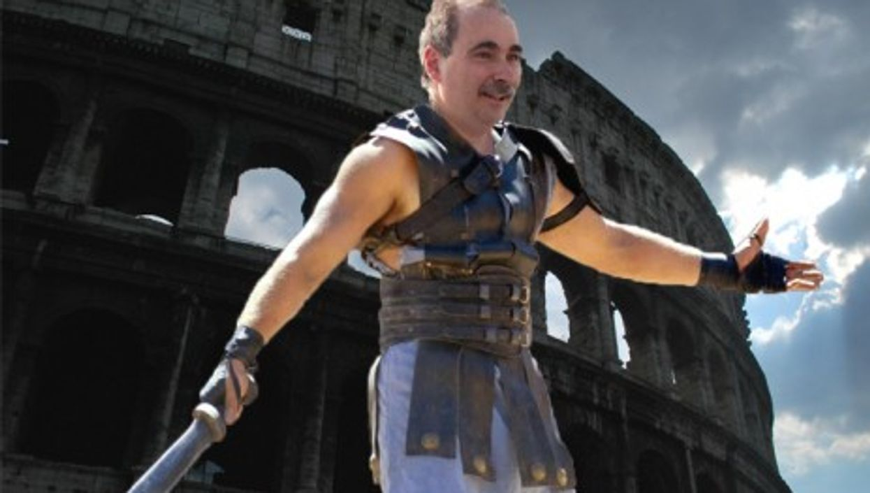 """From """"street fighter"""" to gladiator?"""