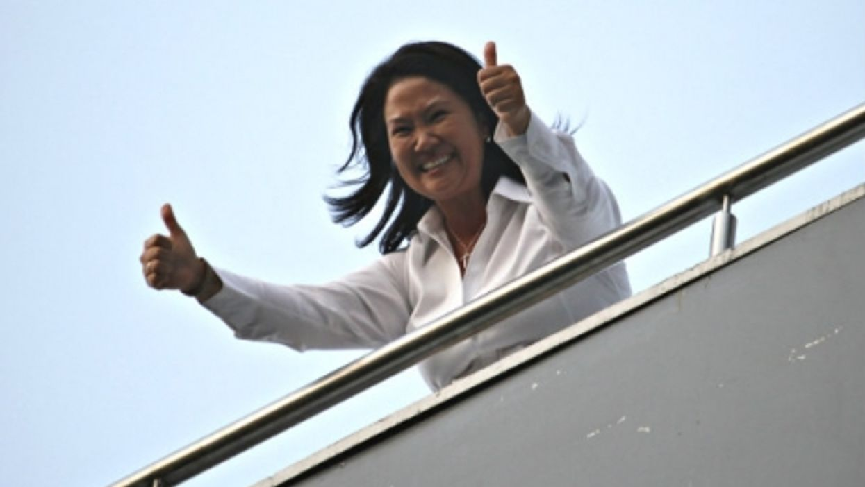 Fujimori's popularity has continued to grow.