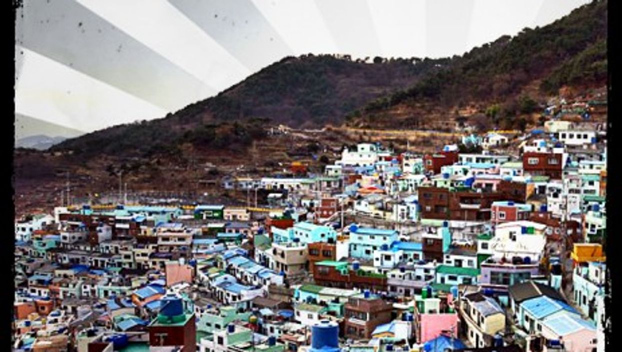 Gamcheon – officially known as Gamcheon Culture Village
