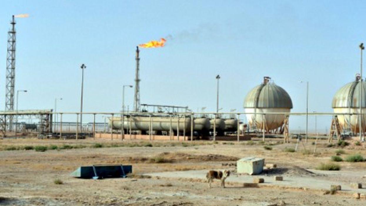 Gas production in Ash Shaddadi, Syria.
