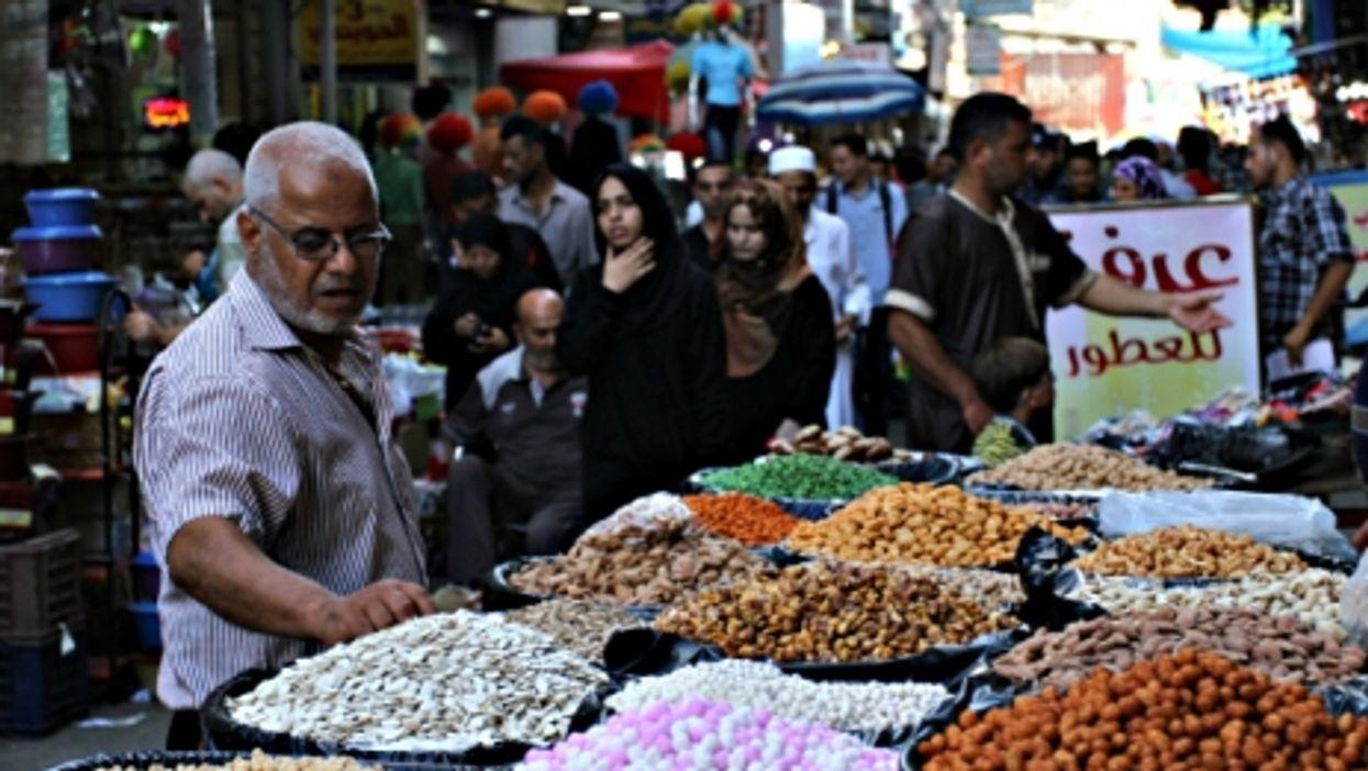 Gaza City's al-Saha market