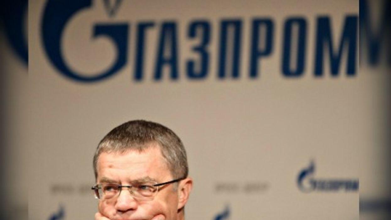 Gazprom CEO Alexander Medvedev