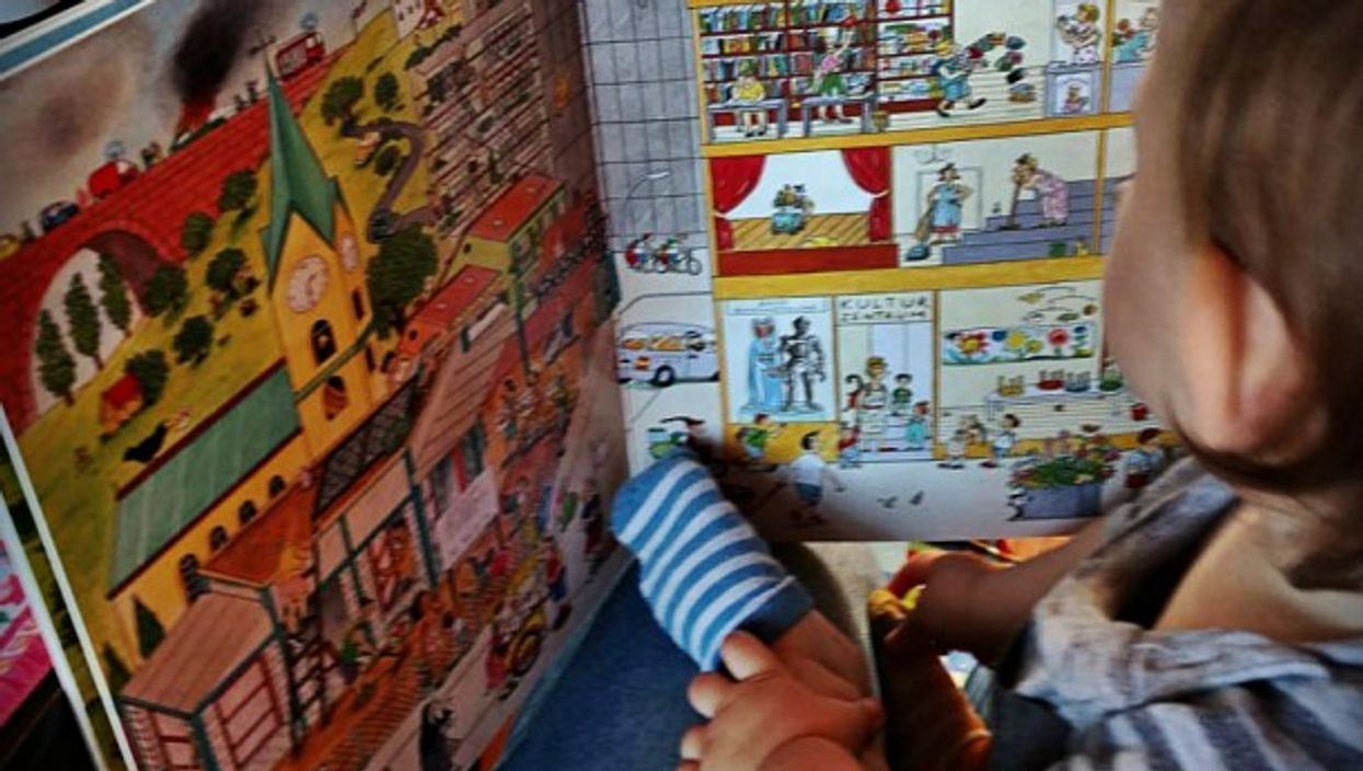 Gender marketing, one German kids' book at a time