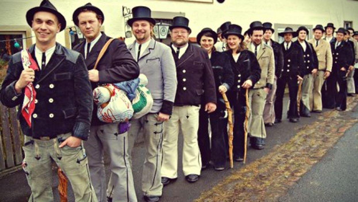 German journeymen meeting in Bayern