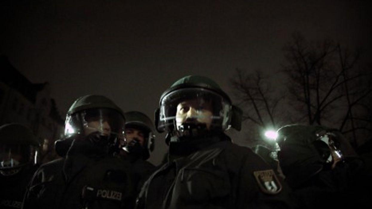 German police forces in Berlin