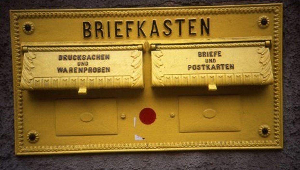 German postal box (Sludgegulper)