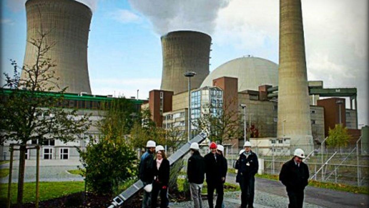 Germany's Grafenrheinfeld nuclear power plant