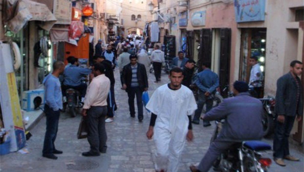 Ghardaïa Street in Algiers (Daggett2008)