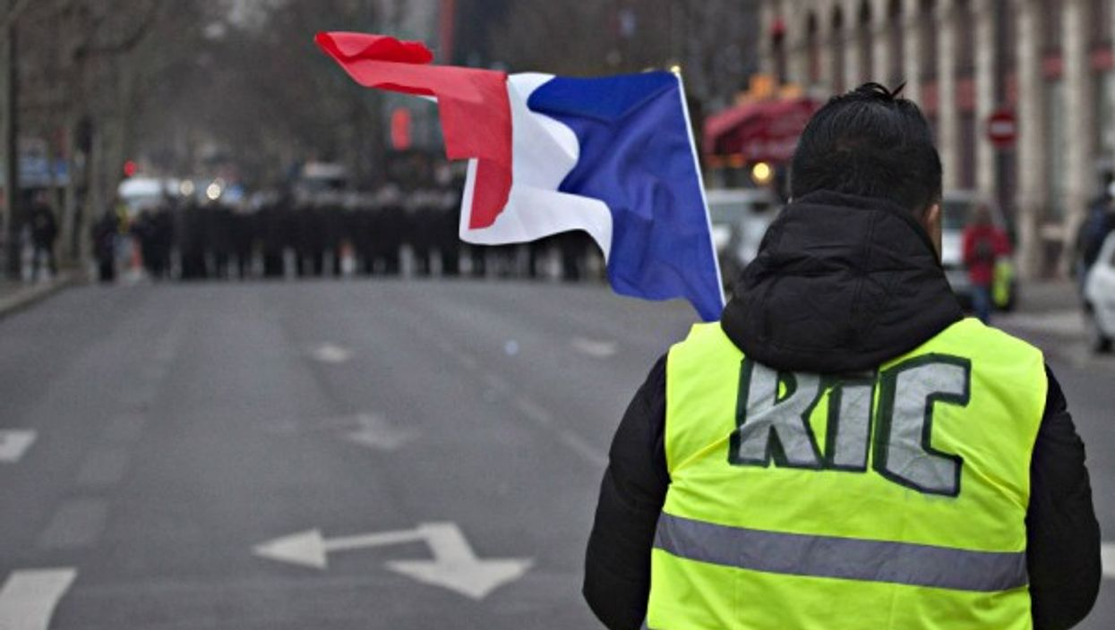 Gilets jaunes protests in Paris on Jan. 5