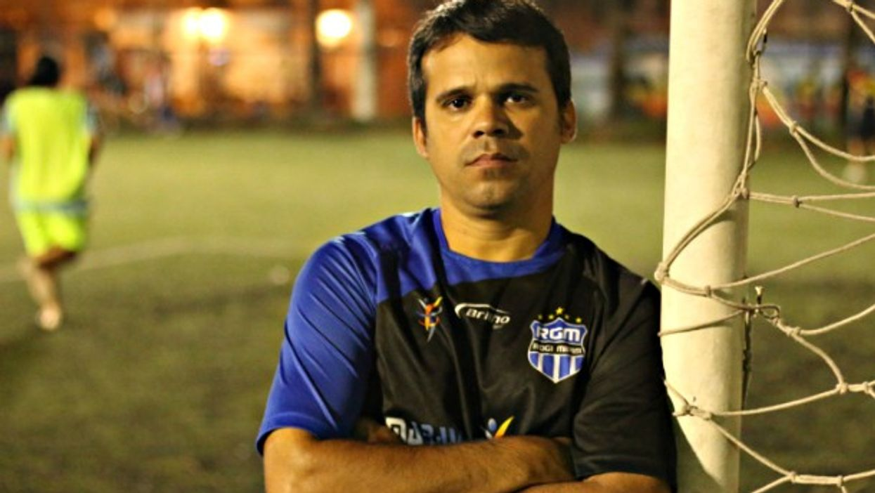 Glaucio, a committed soccer coach