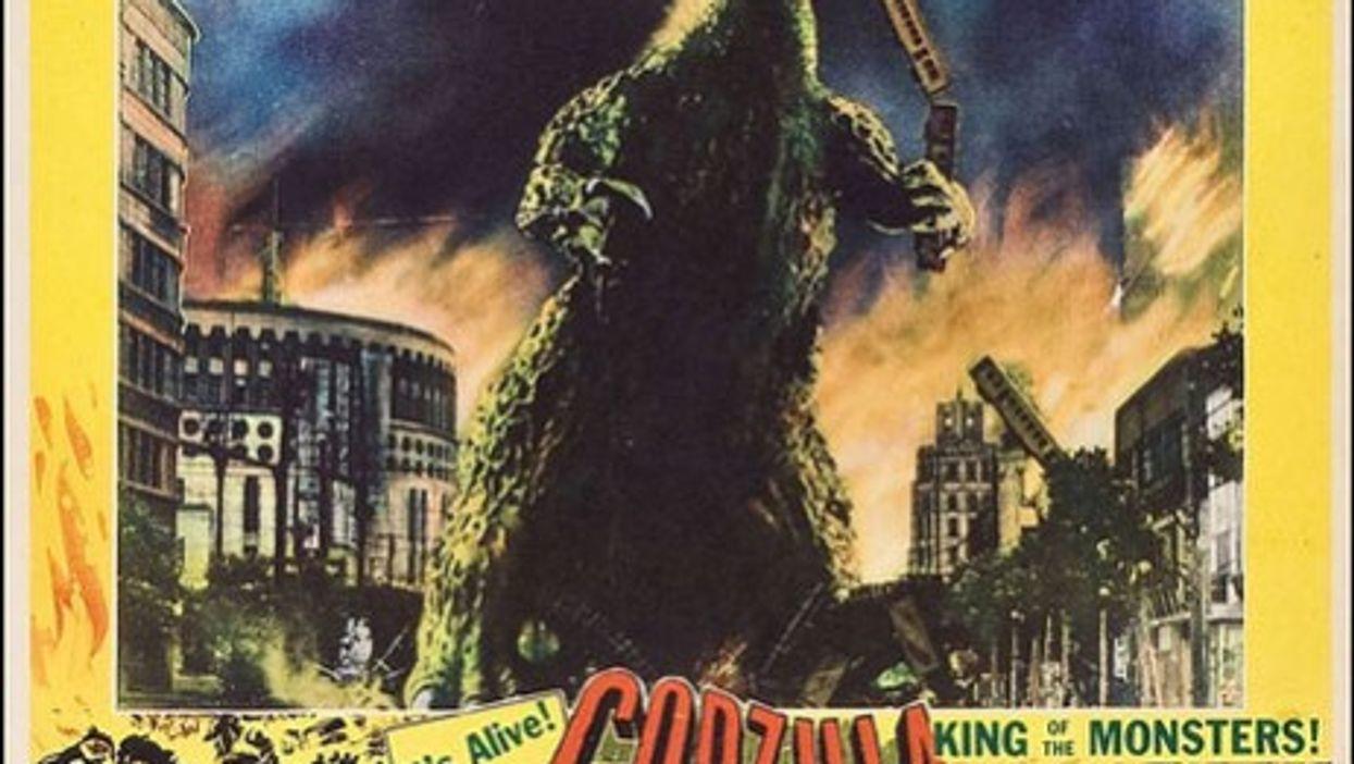 Godzilla, an atomic-fueled lizard, came to Japanese screens soon after Hiroshima.