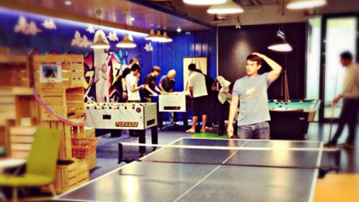 Google HQ's games room
